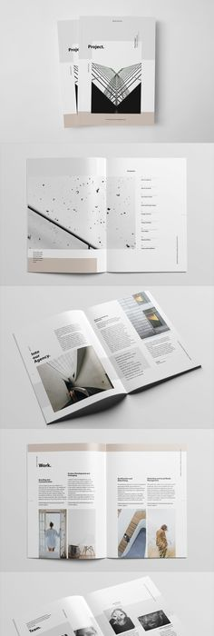 Pages Annual Report Template Indesign Indd  Annual Report