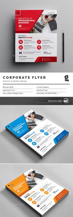 Flyer Samples Templates Abstract Color  Flyer  Flyer Template Template And Flyer Size