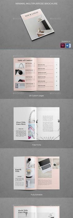 Corporate Bifold Brochure  Brochure Template Brochures And Template