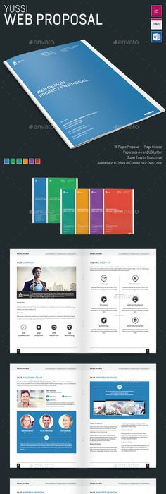 12 Pages Proposal Template Proposal Templates Proposals And Template