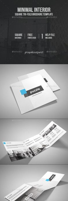 Professional Real Estate Trifold Brochure Pack With Flyer Roll Up