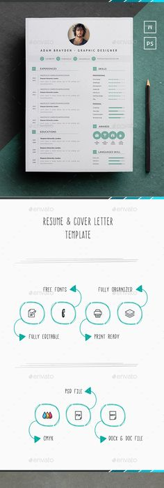 What Font To Use On Resume Clean Resumecv  Resume Cv Resume Cover Letters And Template
