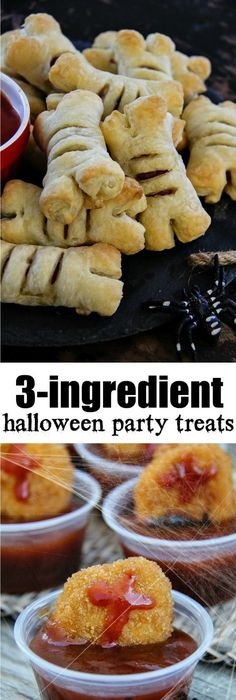 25 Frightfully Cute Halloween Treats you can make for your next - halloween party foods ideas