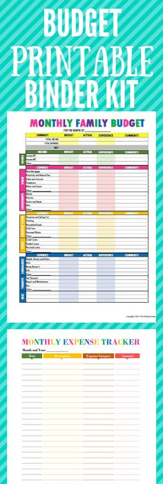 Budget Binder Printables  Budget Calculator Loan Calculator And
