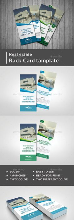Interior Design Rack Card  Psd Templates Template And Edit Text