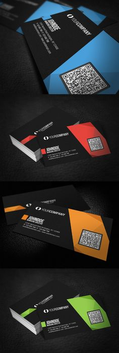 Free psd scan my qr code business cards free mockups pinterest professional business card suitable for most businesses reheart Image collections