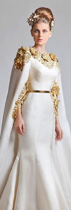 Krikor Jabotian couture.. | Fashion | Pinterest | Regal und Kleider