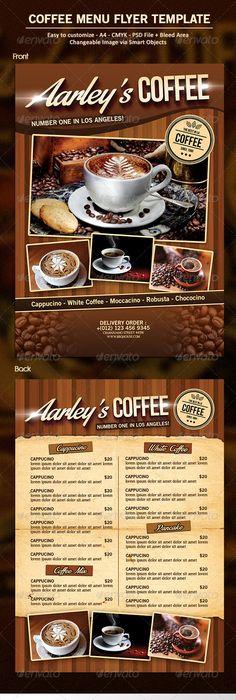 Coffee House Menu Board  Coffee Menu Boards  On Air Design