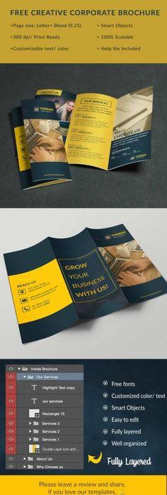 Medical Free Brochure Psd Template Free Brochure Psd Templates