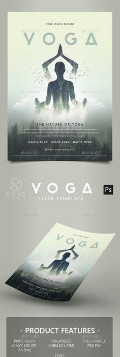 Yoga Flyer Template Psd  Yoga Yoga Yoga    Flyer
