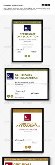 A3 Certificate Template Certificate, Template and Certificate design - copy business license certificate template
