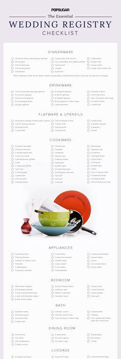 The Essential Wedding Registry List For Your Kitchen Essentials - new blueprint registry how it works