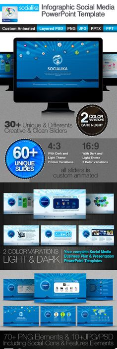 Gravitation Unlimited PowerPoint Template Ppt file, Template and Adobe