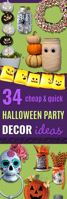 25 Easy and Cheap DIY Halloween Decoration Ideas DIY Halloween - cheap easy diy halloween decorations