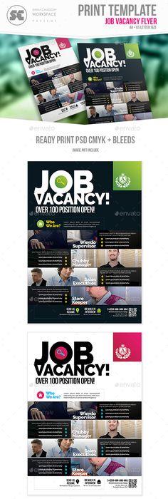 Job Vacancy Flyer Flyer Template Template And Logos