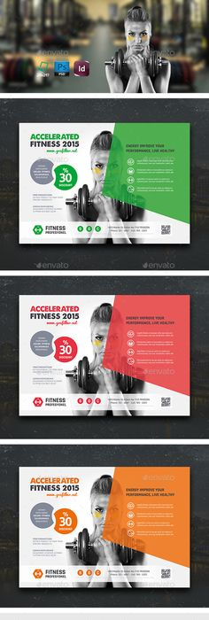 Fitness Gym Flyer Template  Flyer Template Template And Graphics