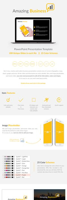 Global Business Powerpoint Presentation Template Powerpoint - Awesome logo presentation template scheme