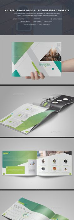 Brochure Template For Indesign A And Letter Brochure Template - Indesign template brochure