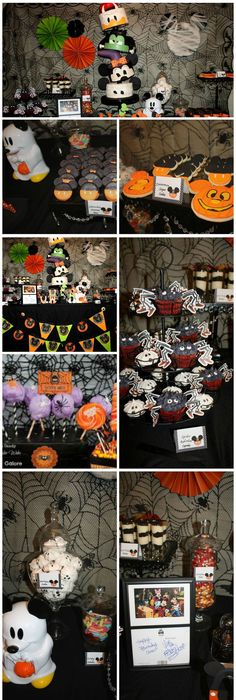 Pin by Sherry Bissell on Mickey Halloween Party Pinterest Mickey - not so scary halloween decorations