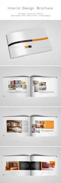 Clean And Simple Catalogue Template  Template Brochures And