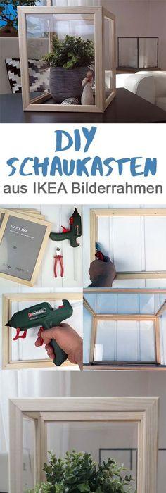 Diesen Tollen IKEA Hack Kannst Du Aus Ein Paar Bilderrahmen Selber Machen.  Toller Schaukasten/