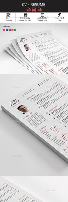 Resume Resume cv, Template and Simple resume template