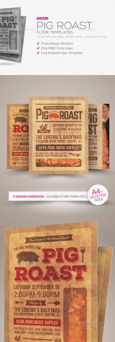 Sunday Brunch Flyer Templates Flyer Template Template And Graphic