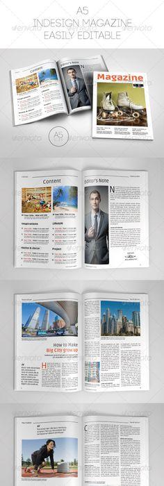 Tech Magazine Cover Template | Magazine cover template, Tech ...