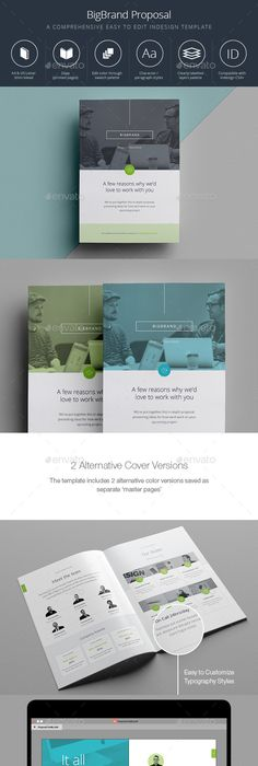 Proposal  Indesign Templates Proposals And Template
