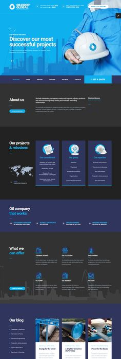 Business infographic 23 best creative swot charts powerpoint buy oildrop oil and gas industrial html template with builder by mwtemplates on themeforest oildrop is our new modern and exquisite html template that toneelgroepblik Image collections