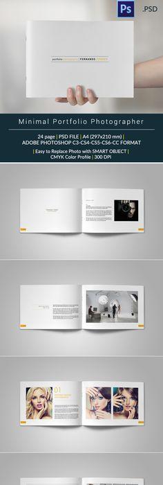 Portfolio / Photobook by tujuhbenua on @creativemarket   Workstuff ...