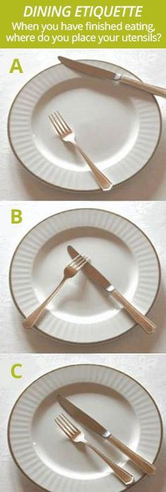 Excellent Brief Explanation On Basic Table Manners