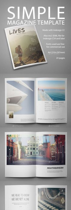 Sport Magazine — InDesign INDD #football magazine #sport • Available ...