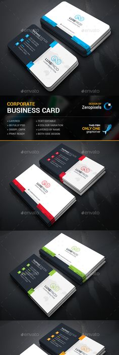 Minimal personal business card hp0013 card templates business business card photoshop psd package pack available here https reheart Images