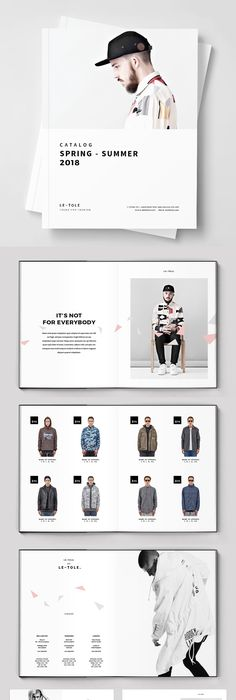 Clothing Catalog Template | Multipurpose Brochure Template 14 Pages Brochure Template