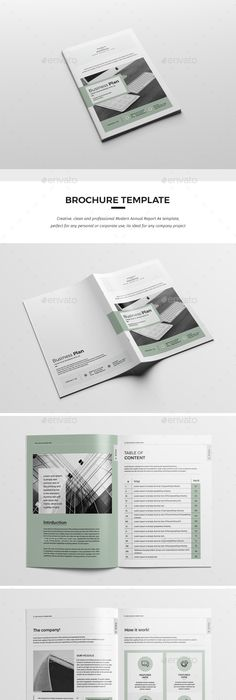 Business Plan — InDesign INDD #elegant #design • Download ➝ https ...