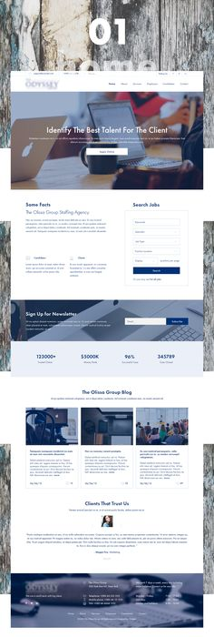 Creative Staffing Agency  Wix Website Templates