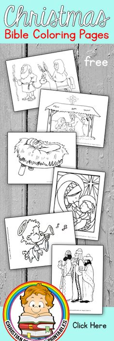 Free Christmas Bible Crafts, Christmas Activities, Christian - new christian coloring pages.com