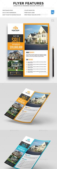 High End Real Estate Flyers  Google Search  Inspire Me