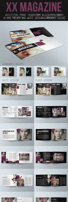 Portfolio Photography Brochure Template Indesign Indd 24 Pages A4