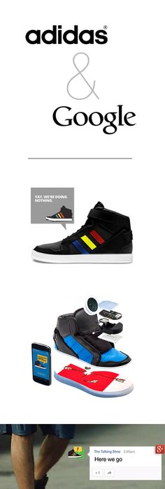 Google and adidas Unveil a 'Talking Shoe' at SXSW