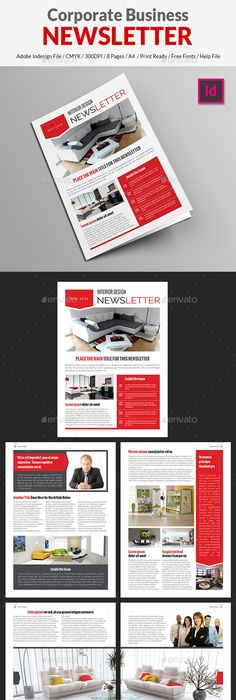 Business newsletter vol iii print templates template and business friedricerecipe Images