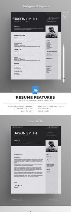 Resume Resume styles, A4 and Fonts