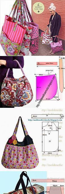 LAST ONE--Striped Bow Bag Purse w/ double handles | Bag, Purse and Craft