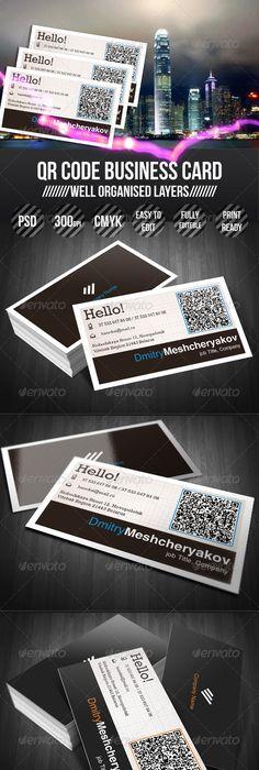 Transparent qr code business card qr codes business cards and qr code business card reheart Gallery