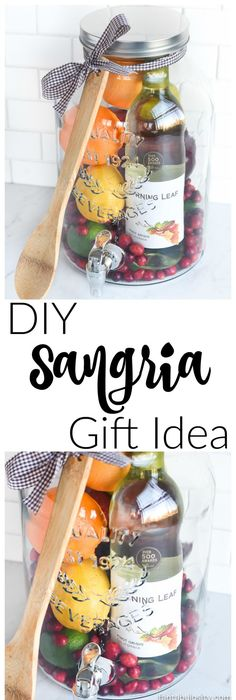 winsome ideas housewarming party gifts. DIY Gift Idea  Sangria for Friends housewarming 27 Expensive Looking Inexpensive Gifts