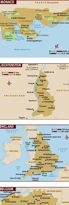 Tour Routes in Scotland Scotland Travel route and Scotland trip
