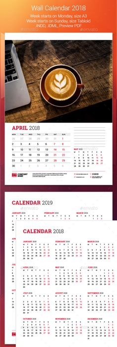 And  Calendar Template  Template Font Logo And Logos