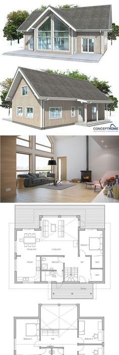 Pin by Oz Bee on house ideas Pinterest Small house plans