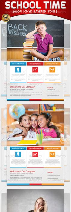 Free Template For Child Care Flyer  Child Care  Brochures